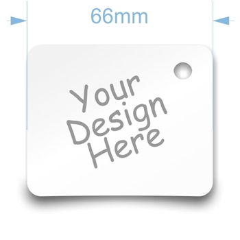 Picture of Tag 66mm x 54mm 235gsm