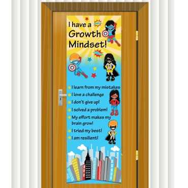 Picture for category Growth Mindset Classroom Door Banners