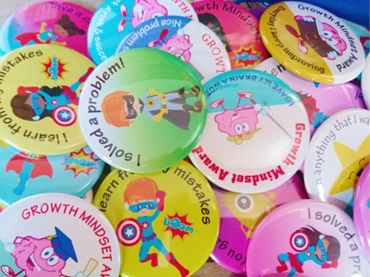 Picture for category Growth Mindset Button Badges