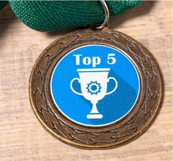 Picture of Bronze Medal - custom printed sticker