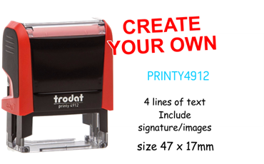 Picture for category Create Your Own Stamp 47 x 17mm