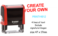 Picture of Self Inking Stamp 4912