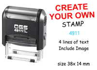 Picture of Self Inking Stamp 4911