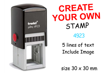 Picture of Self Inking Stamp 4923