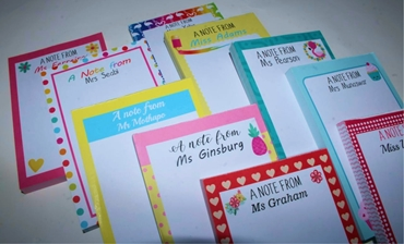 Picture for category Notepads A6 Personalised
