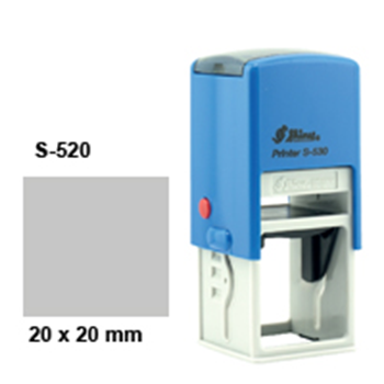Picture of 20mm Round/Square Stamp, Self inking
