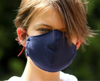 Picture of Mask Cotton Navy