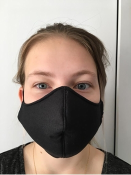 Picture of Mask Cotton Black