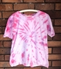 Picture of Tie dyed Tee Pink