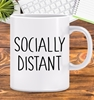 Picture of COVID-19 Socially Distant -Personalised mug