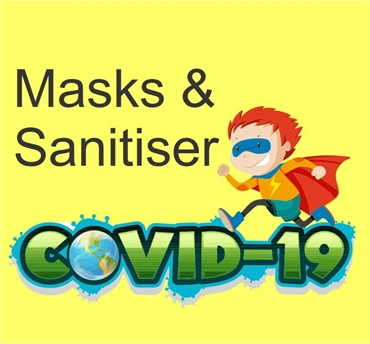 Picture for category Masks & Sanisiters