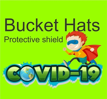 Picture for category Bucket Hats for Kids with protective shield