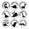 Picture of 9 x  DINOSAURS Stamper Set- 20 mm Round