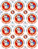 Picture of Social Distancing Stickers/Decals-12 units