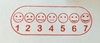 Picture of Assessment Stamp - Sad to Smiley- 1-7