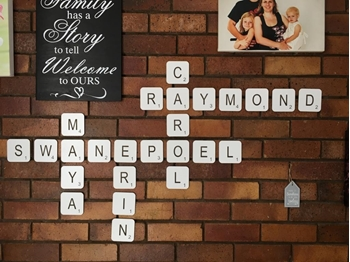 Picture of Scrabble Tile Wall Art