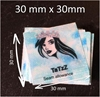 Picture of 30mm x 30mm Polyester Satin -100 units