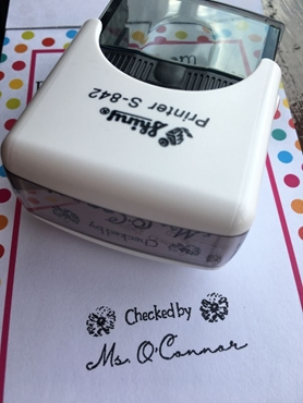 Picture for category Non-Dater Stamp,  Self inking