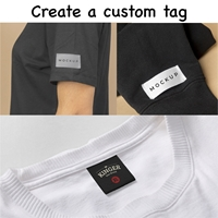 Picture of Custom Tags Polyester Satin