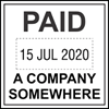 Picture of DATE Stamp 32mm